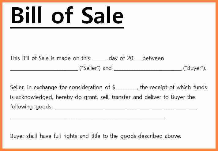 11+ bill of sale receipt | Invoice Example 2017