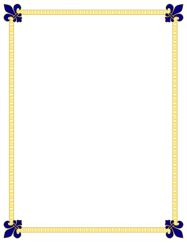 Image of Certificate Border Clipart #6111, Certificate Borders ...