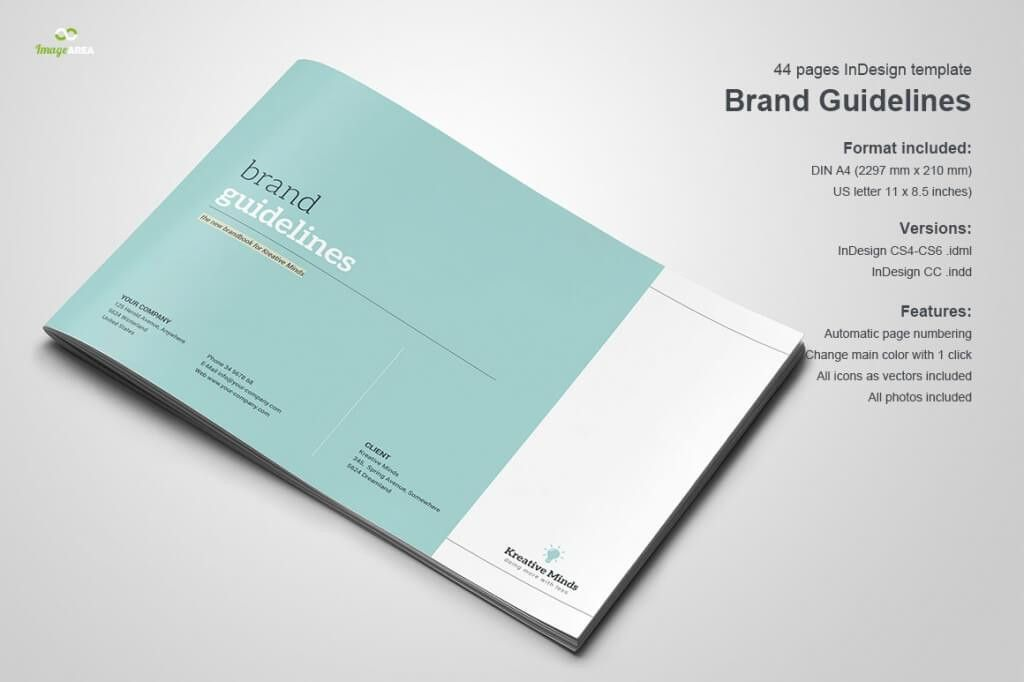 70+ Modern Corporate Brochure Templates   Design Shack