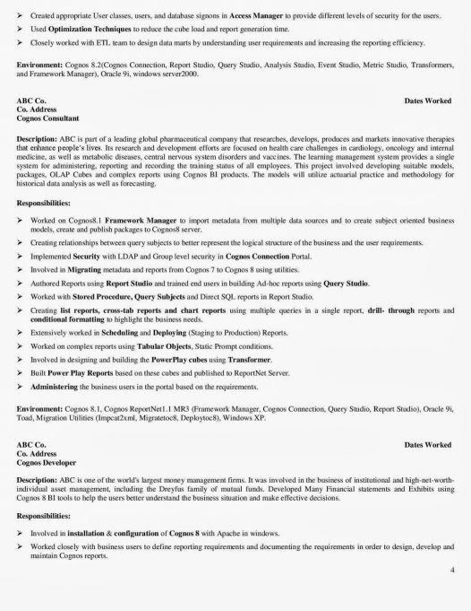 Resume : 21 Exciting Z Os System Programmer Resume's