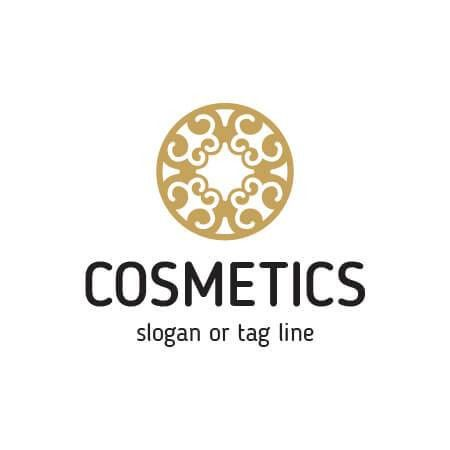 Free vector Cosmetics Logo Template. Ready to print.