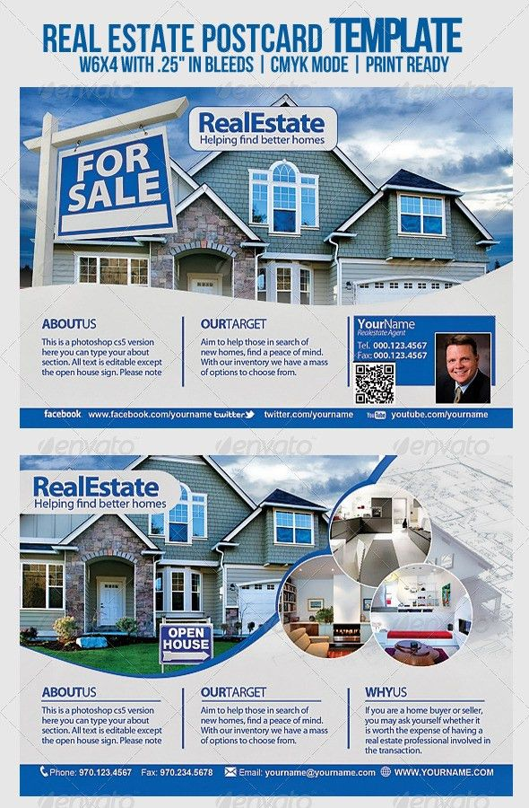 Real Estate Template by PSDFLYERS | GraphicRiver