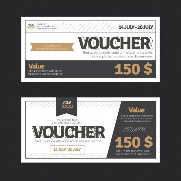 Download Vector - Gift voucher design - Vectorpicker