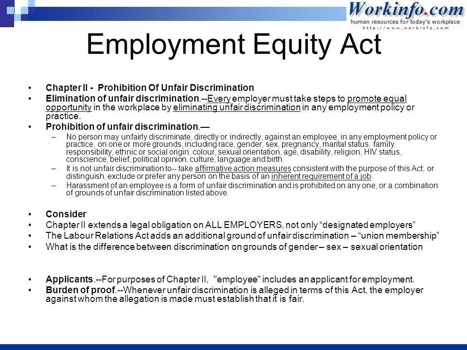 Letter Of Complaint To Employer Unfair Treatment ...