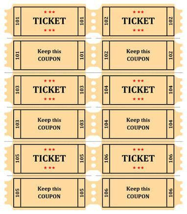 Best 25+ Printable raffle tickets ideas on Pinterest | Clothes ...