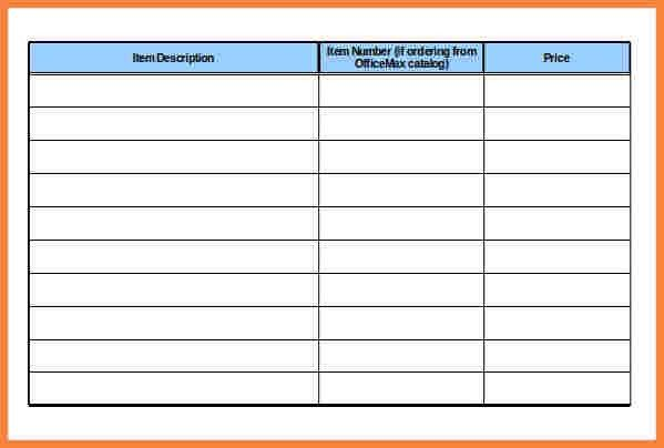 6+ office supplies inventory spreadsheet | Costs Spreadsheet