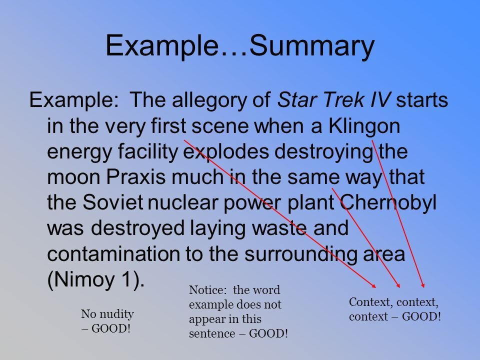 Information Integration By using Star Trek! This is what you get ...