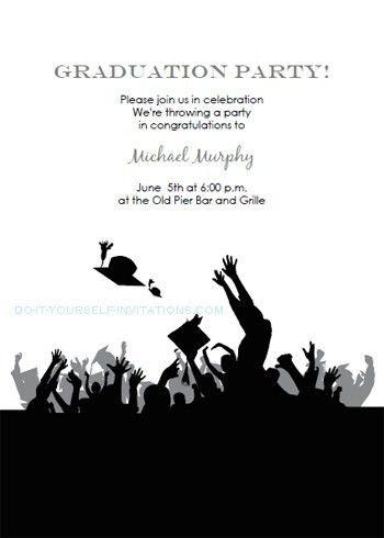 Free Printable Graduation Invitation Templates   christmanista.com