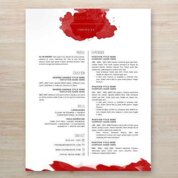35 best resumes. images on Pinterest | Resume cover letters ...