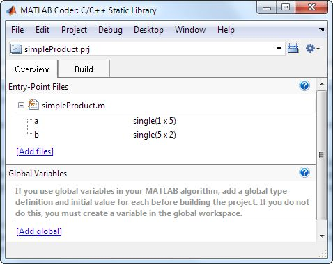 Generating C Code from Your MATLAB Algorithms » Loren on the Art ...