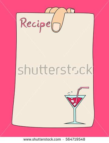 Recipe Paper Stock Images, Royalty-Free Images & Vectors ...