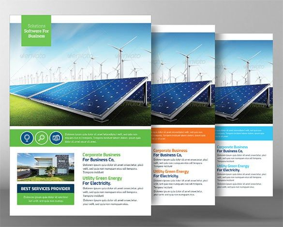 16+ Green Flyer Templates - Free PSD, EPS, AI, InDesign, Word, PDF ...