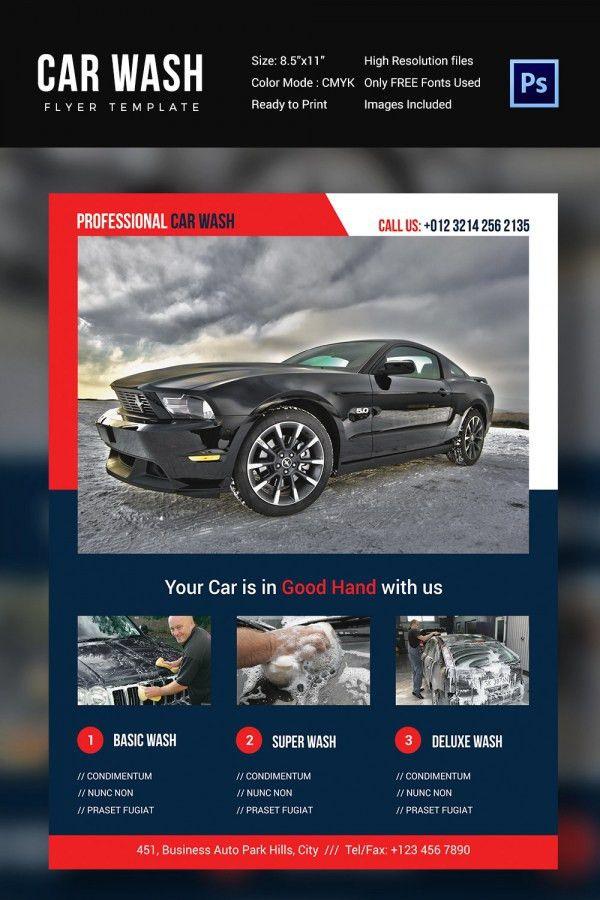 Auto Detailing Flyer Template | Job.billybullock.us