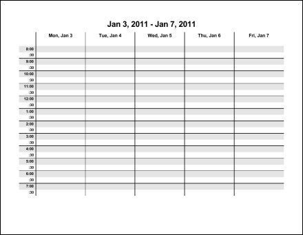 Print 2011 Calendar : Fifty Two Pages (Weekly) : Ask the eConsultant