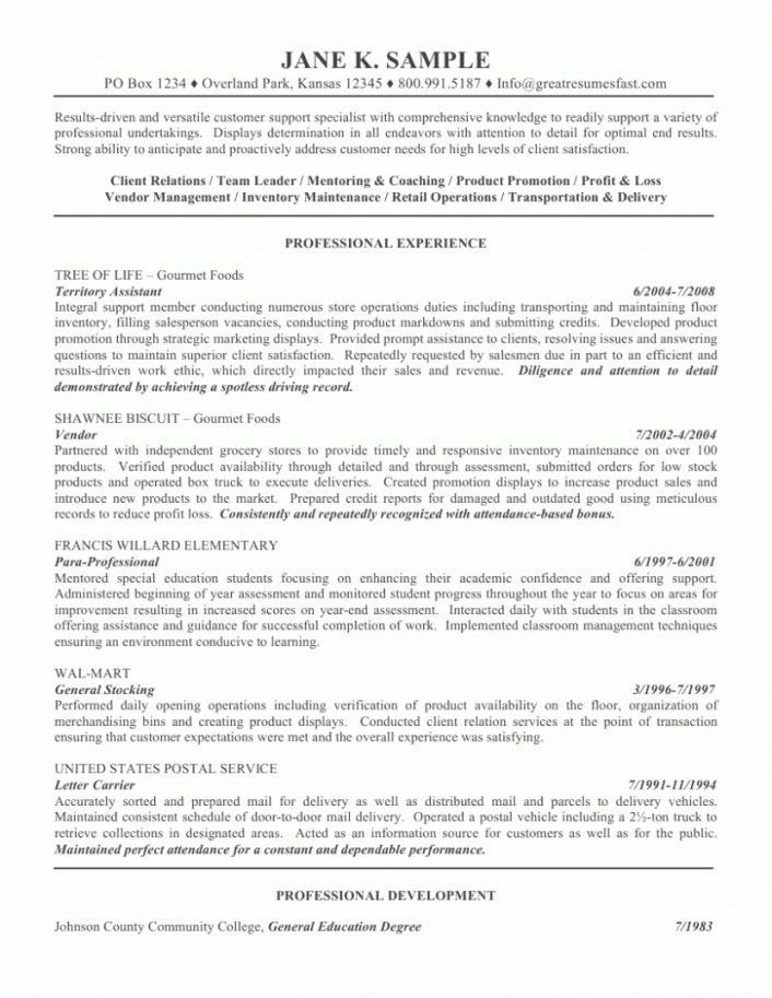 general resume objective examples to inspire you how to create a ...