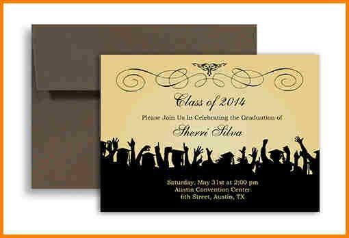 9+ graduation invitation template free | artist resume