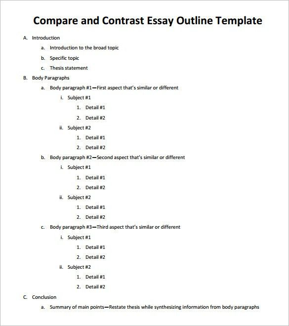 Sample Essay English Comparison Contrast Essay Example Paper Narrative Essay Sample Papers also Persuasive Essay Thesis Statement Examples Compare And Contrast Essay Outline Format Comparison Contrast  Science Essay Topic