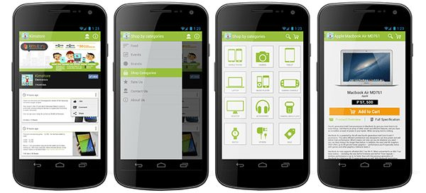 Android App Ecommerce Template on Behance