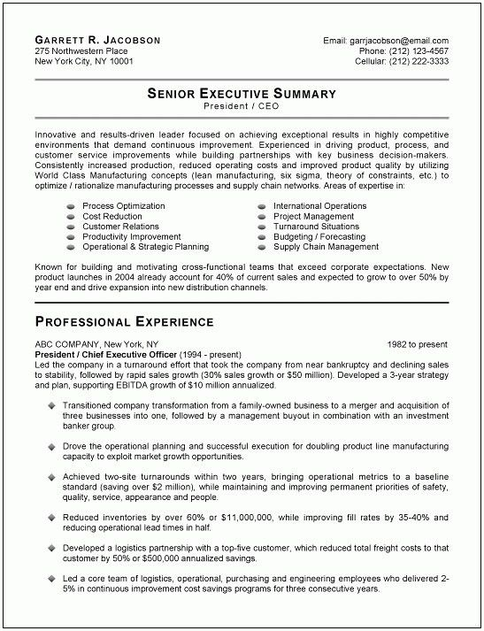 Perfect Resume Example. The Perfect Resume Template Resume ...