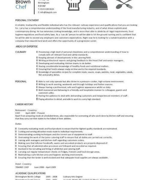 Download Chef Resume Sample | haadyaooverbayresort.com