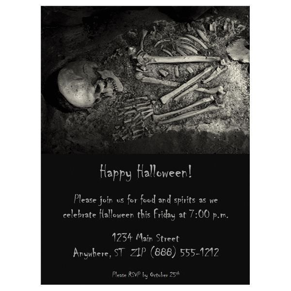 Halloween Wedding Invitations: Free Templates & Fun Ideas