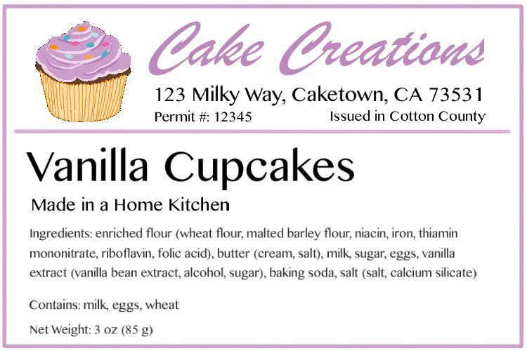 Baking Labels - How to Design the Best Labels | BakeCalc