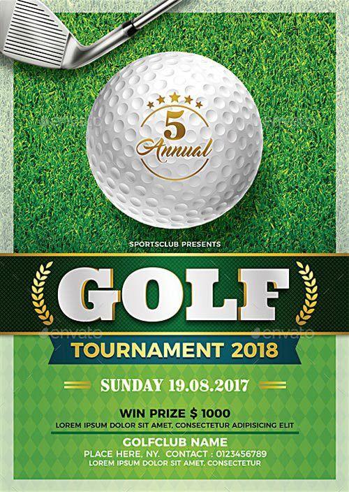 FFFLYER | Golf Tournament Flyer Template - Download Flyer ...