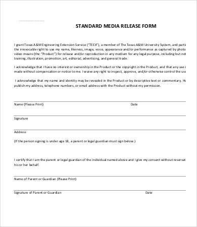 Sample General Release Form. General-Release-Of-Liability-Form ...