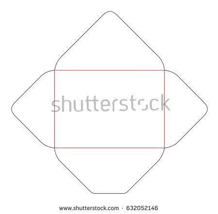 Vector Die Cut Envelope - Download Free Vector Art, Stock Graphics ...