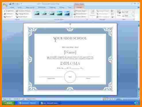 9+ how to make award certificates in microsoft word | sample of ...