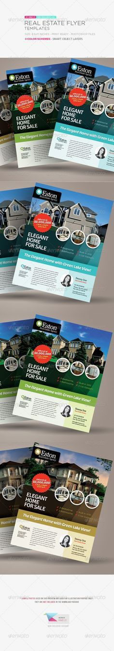 Real Estate Flyer Templates to Market Your Property | Real Estate ...