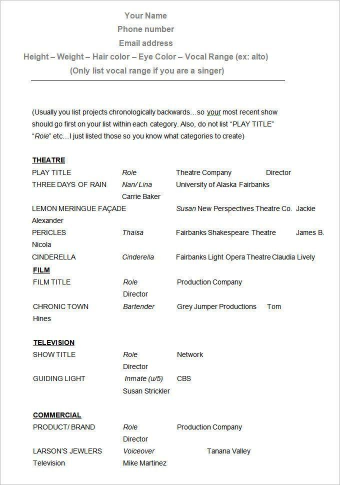 Blank Resume Format, blank resume formats. plain blank resume ...
