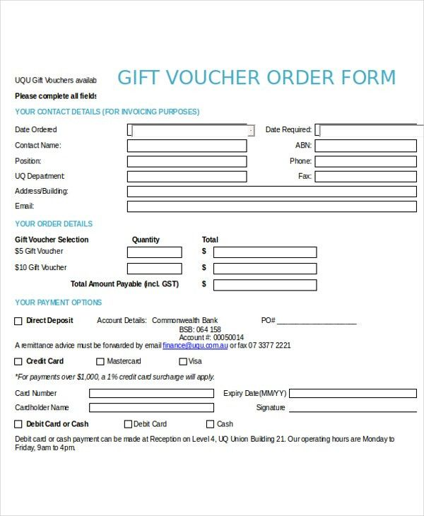 12+ Voucher Template - Free sample, Example, Format | Free ...