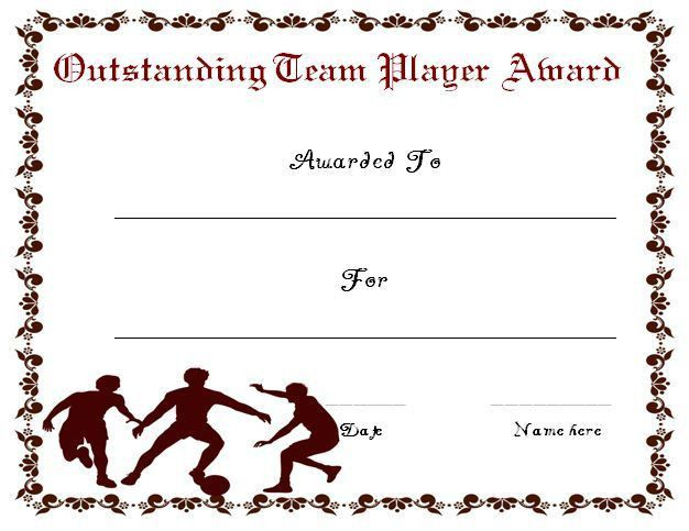 30 Soccer Award Certificate Templates - Free to Download & Print ...