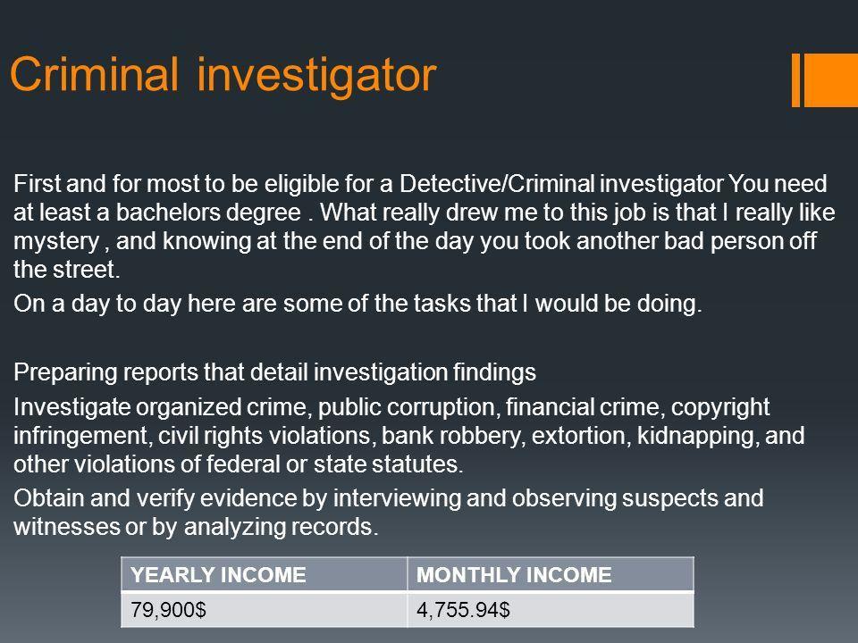 MY MONTHLY BUDGET Gavin O'Brien 7/29/15. My Job *Criminal ...