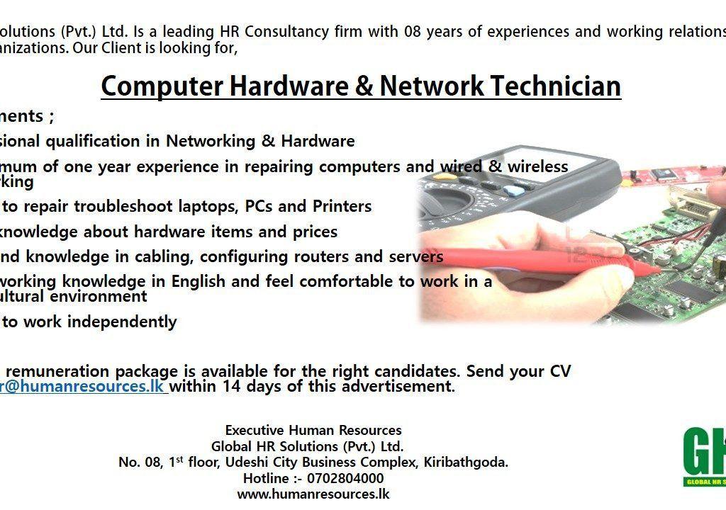 Download Hardware Technician Jobs | haadyaooverbayresort.com