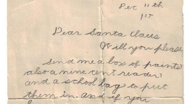 Christmas Wish List From 1915 Will Make You Feel Materialistic ...