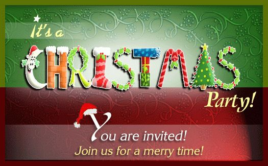 Christmas Party Invitations Templates | THERUNTIME.COM