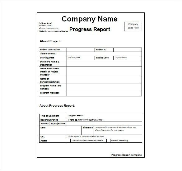 Weekly Report Template | cyberuse