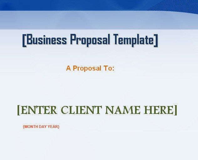 28+ Business Proposal Word Template | Doc 614794 Business ...