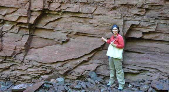 Geologic Wonder of the Month—Cut Face Creek Sandstone | Department ...