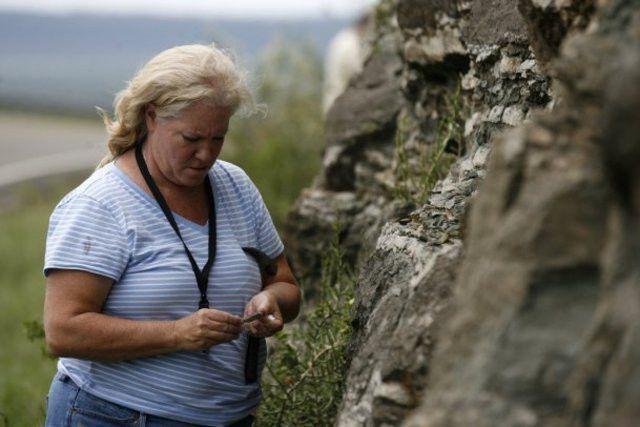 Making science rock Local teachers take part in geology field trip