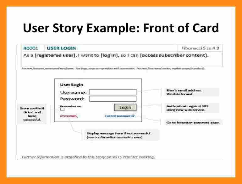 6+ user story template word | actor resumed