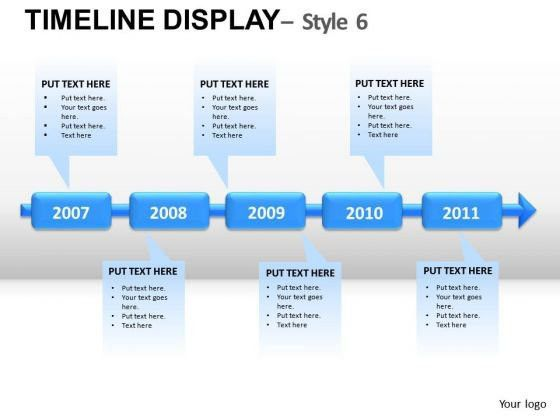 5 Year Plans Forecasts Goals PowerPoint Slides And Ppt Diagram ...