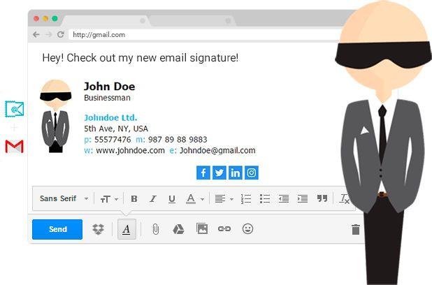 FREE Email Signature Generator, Creator. Email Signature Examples ...