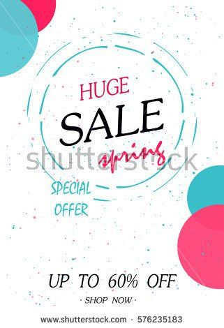 Summer Discount Cards Design Can Be Stock Vector 626495765 ...