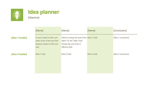 Planners and Trackers - Office.com
