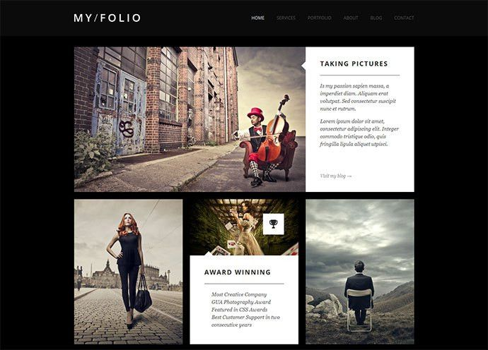 36 Stunning HTML Website Templates For Photographers | Web ...