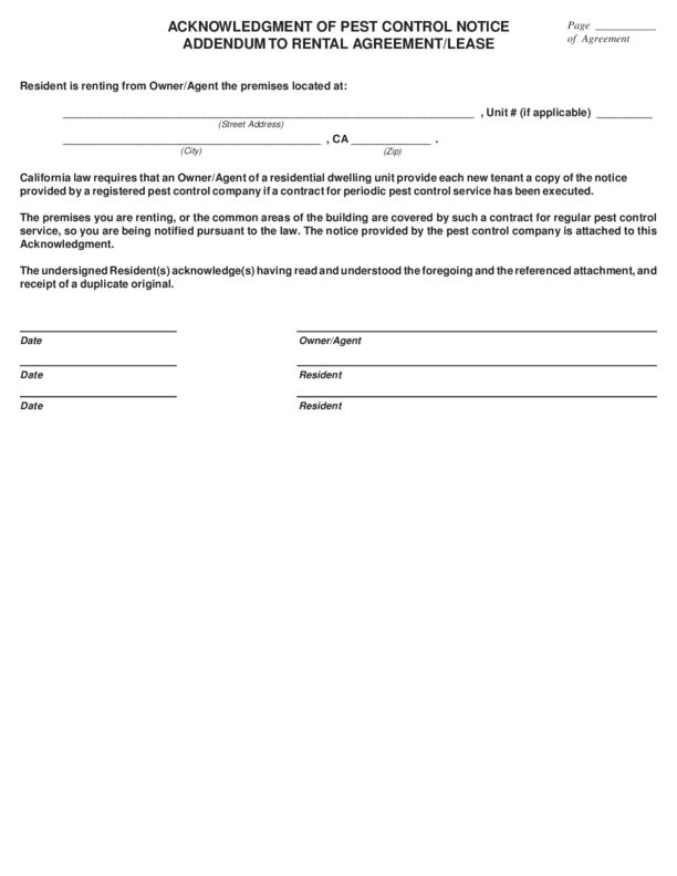 California Rental Lease Agreement Templates | LegalForms.org