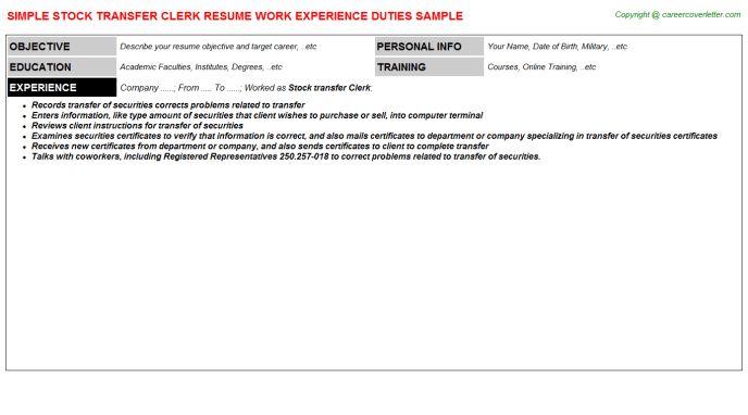 accounts receivable clerk resume. accounting clerk resume 8 ...